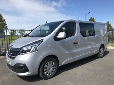 Photo RENAULT TRAFIC GRAND CONFORT CABINE APPROFONDIE 6 PLACES DCI170ch - EDC